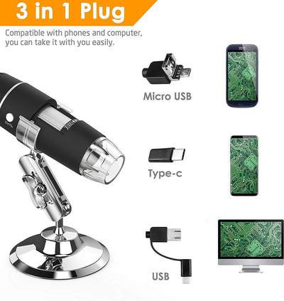 Magic Zoom™ 1080p Microscope Camera