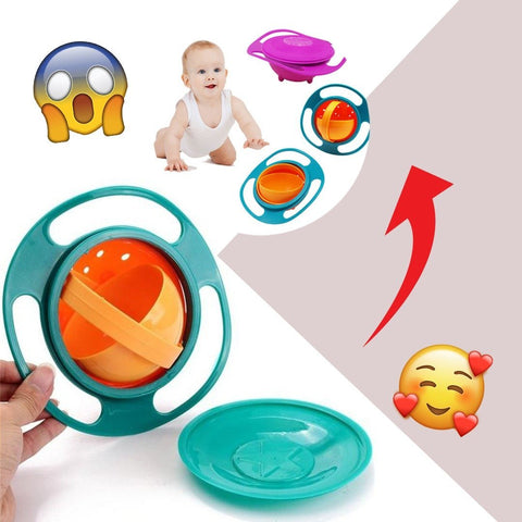 SafeBowl™- Universal 360 Spill Protection Baby Bowl