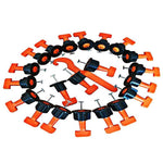 Reusable Anti-Lippage Tile Leveling System(50 pcs per pack)