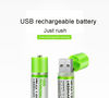 Ni-MH USB rechargeable battery