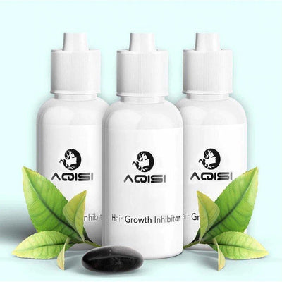 100% ORGANIC PERMANENT HAIR GROWTH INHIBITOR