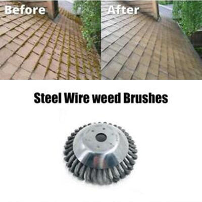 Curved Steel Wire Weed Brush(Free Shipping)