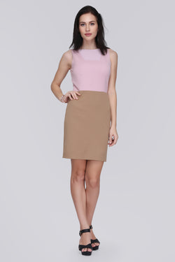 Yoke Neck Dress