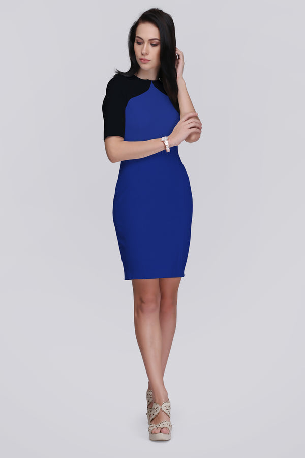Contrast Fit Dress
