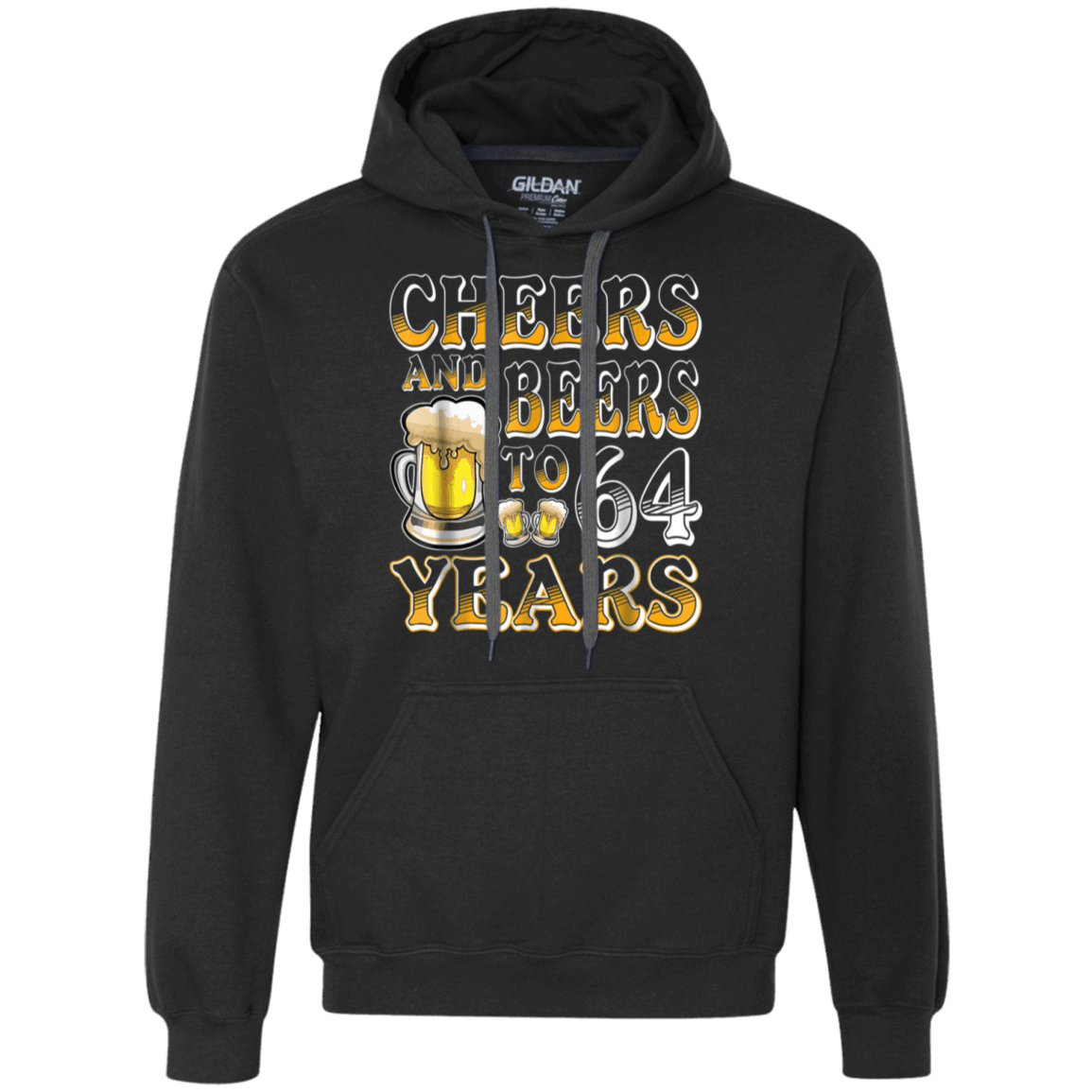 Funny Cheers And Beers 64 Yrs Old 64th Bday Shirt 1954 Gifts Men Sweatshirt
