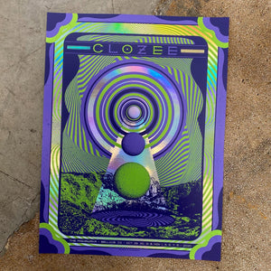Clozee - Bellvue CO 2020 (Rainbow Foil, Green)