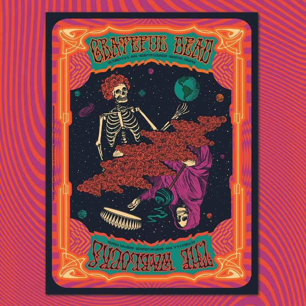 GRATEFUL DEAD MILESTONE #7 - Warlocks 89 - REGULAR