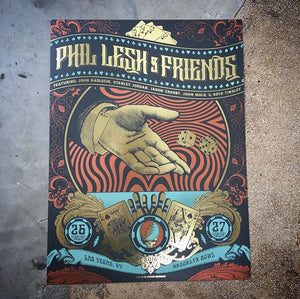 Phil Lesh and Friends - Brooklyn Bowl Gold foil