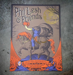 Phil Lesh and Friends Halloween Gold Foil