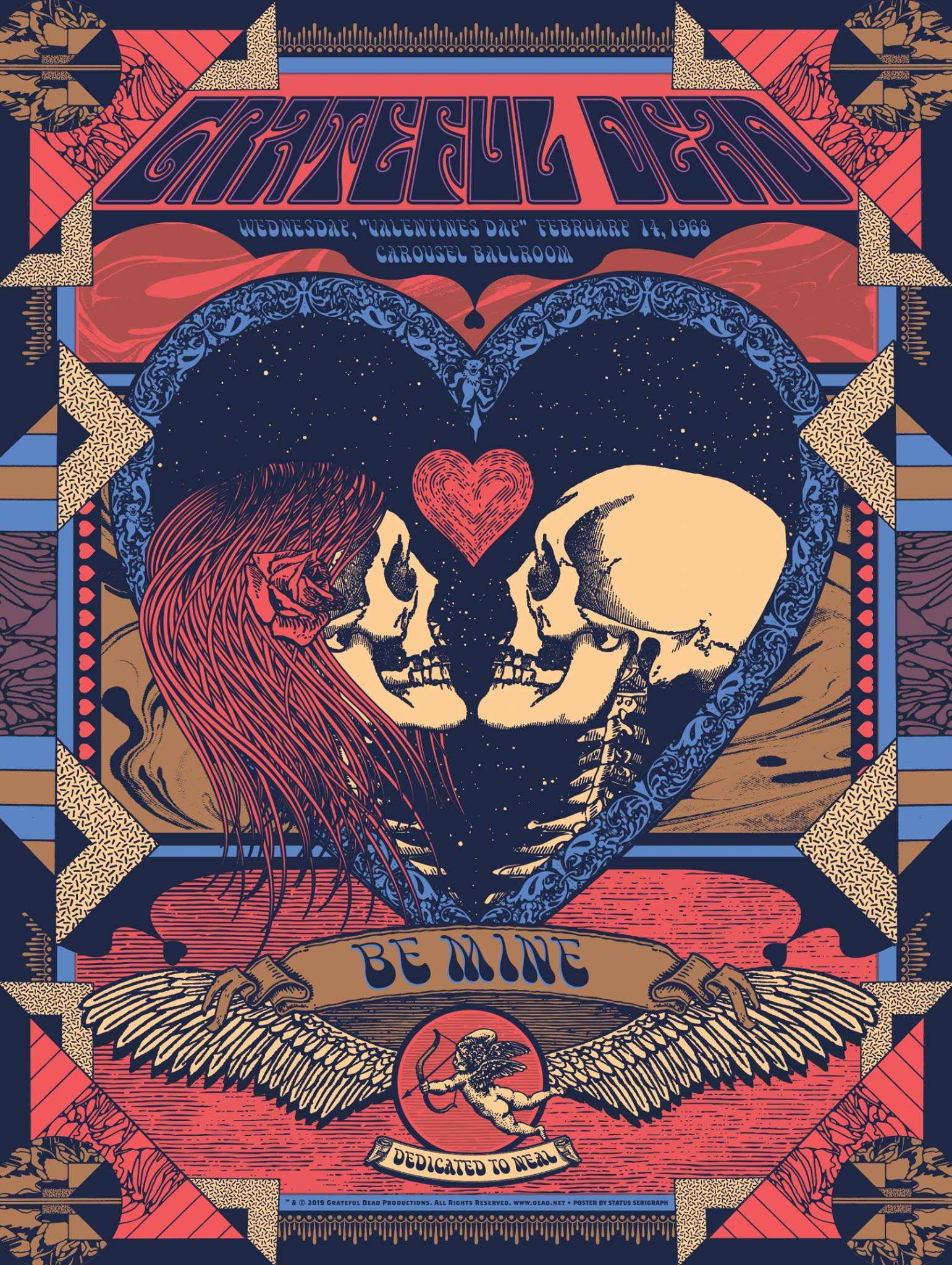 Posters And Prints Tagged Grateful Dead Status Serigraph