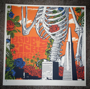 Grateful Dead Dave's Picks 2016 Print Set