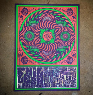 Phil Lesh & Friends - Capitol Theatre 3/14/19 (Swirl Foil)