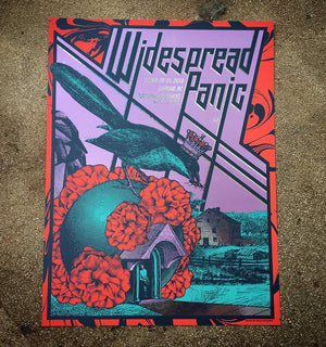Widespread Panic - Durham 19 (Fireworks Foil)