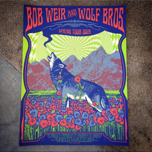 Bob Weir & Wolf Bros - Spring Tour 19 (Lime)