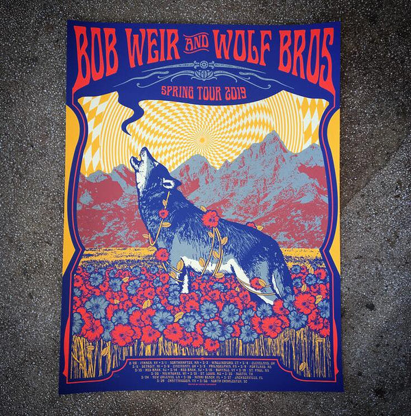 Bob Weir & Wolf Bros - Spring Tour 19 (Lemon)