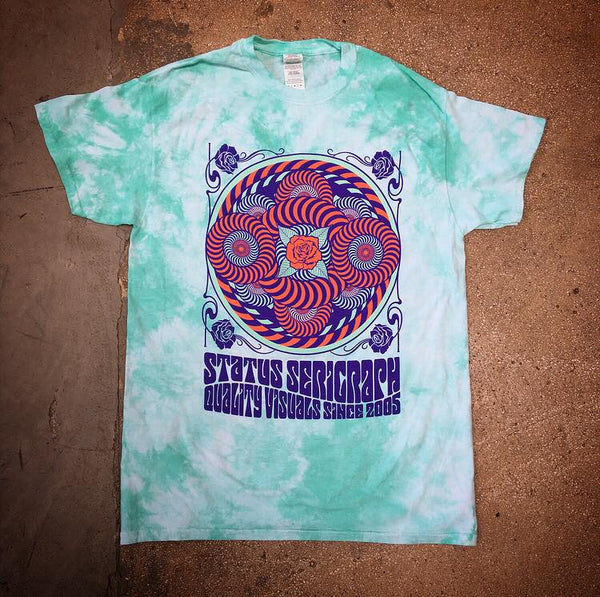 Quality Visuals Mint Tie Dye