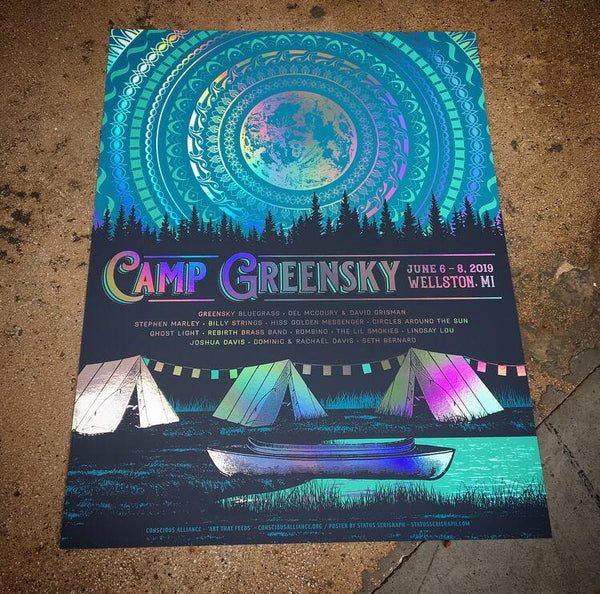 Camp Greensky 19 (Rainbow Foil)