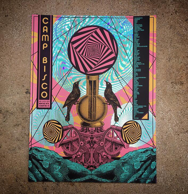 Camp Bisco 19 (Swirl Foil)