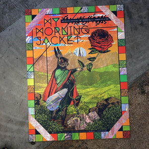 My Morning Jacket - Red Rocks 19 (Swirl Foil)