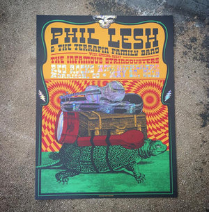 Phil Lesh - Red Rocks 19 (Swirl Foil)
