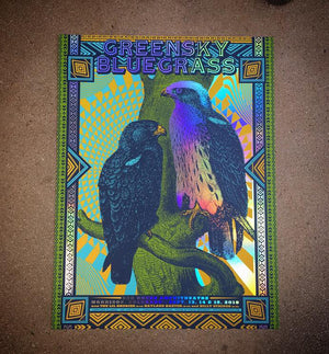 Greensky Bluegrass - Red Rocks 19 (Rainbow Foil)