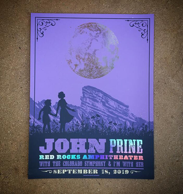 John Prine - Red Rocks 19 (Rainbow Foil)