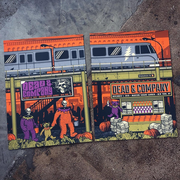 Dead & Company - MSG 10/31/19 & 11/1/19 set LAST ONE!!!
