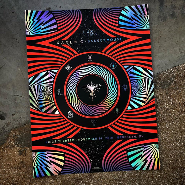 Karen O & Danger Mouse's Lux Prima - Brooklyn 19 (Rainbow Foil)