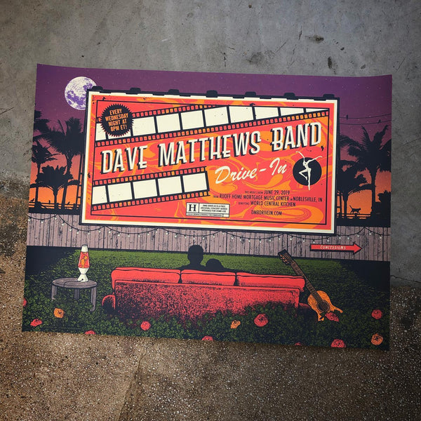 Dave Matthews Band -  Noblesville 19 DRIVE IN