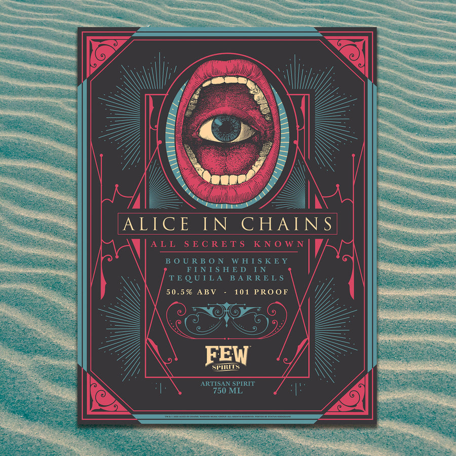 "Alice in Chains ""All Secrets Known"" Poster Set"