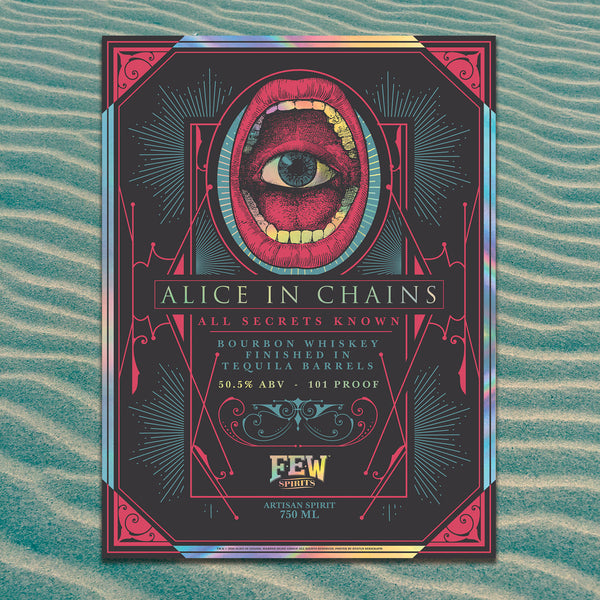 "Alice in Chains ""All Secrets Known"" Holographic Foil Poster"