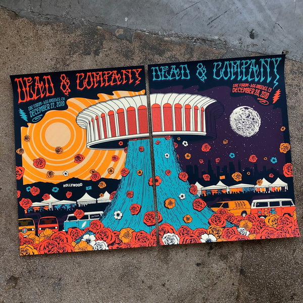 Dead & Company - Los Angeles 19 (Matching numbered Cut Set)