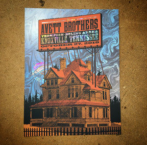 The Avett Brothers - Knoxville 19 (Swirl Foil)