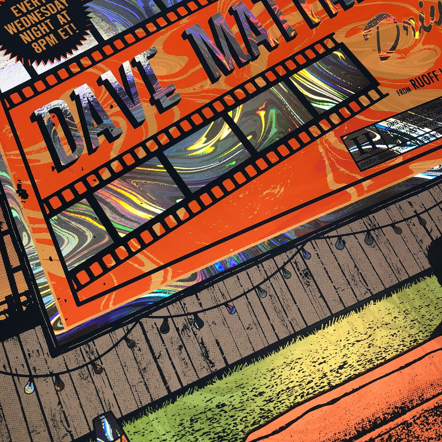 Dave Matthews Band -  Noblesville 19 DRIVE IN (Swirl Foil)
