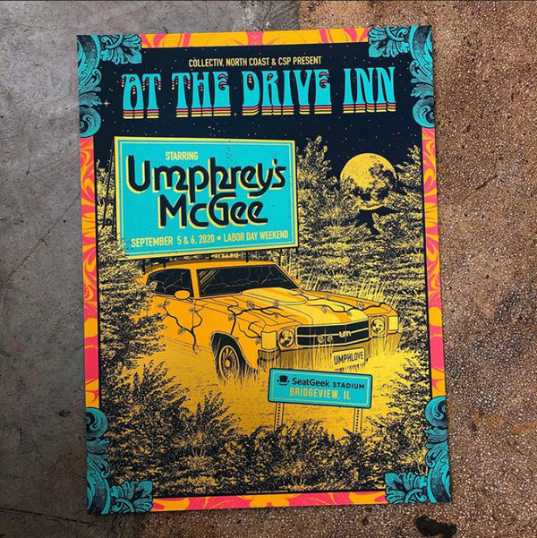 Umphrey's McGee - At The Drive Inn 20 (Gold Like Joel) LAST ONE!!!
