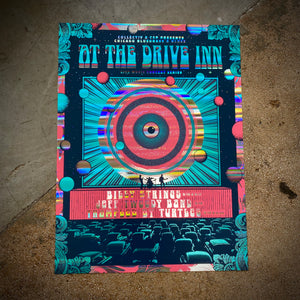 At The Drive Inn - (Pillars of Light Foil)