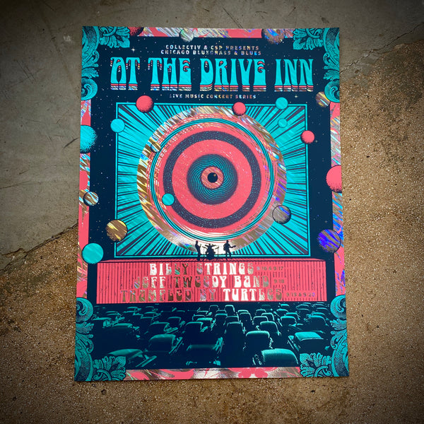 At The Drive Inn - (Moon Lava)