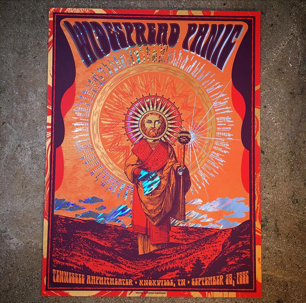 Widespread Panic-Knoxville 95 (Moon Lava Foil)
