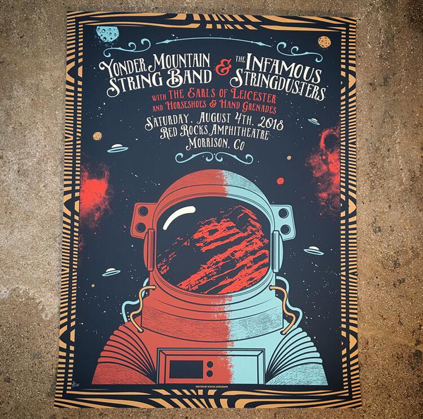 Yonder Mountain String Band & Infamous Stringdusters-Red Rocks 18