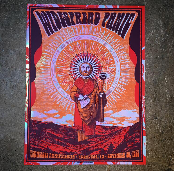 Widespread Panic-Knoxville 95 (Iridescent Foil)
