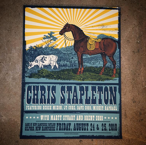 Chris Stapleton-New Hampshire 18