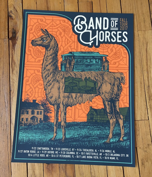 Band of Horses - Fall Tour 2017 (Orange)