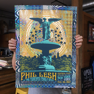 Phil Lesh - Central Park 8/30/17 Diamond Foil