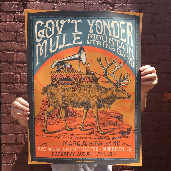 Govt Mule & Yonder Mountain String Band - Red Rocks