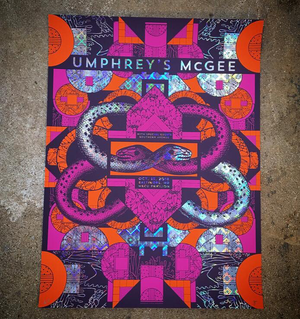 Umphreys McGee-Baltimore 18 (Diamond Foil)