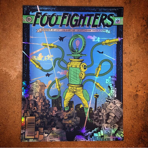 Foo Fighters-Calgary (Rainbow Foil)