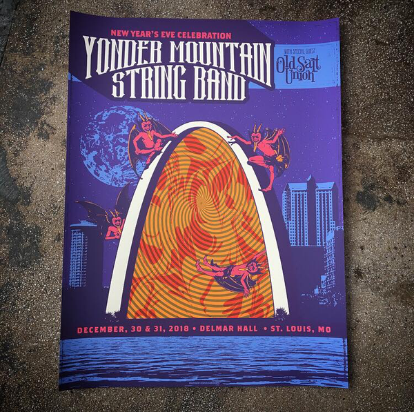 Yonder Mountain String Band NYE 18