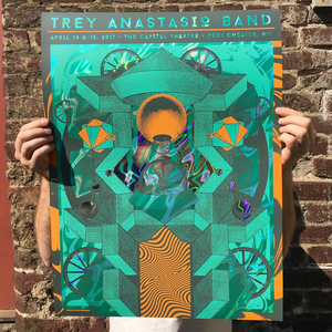 Trey Anastasio Band - Port Chester, NY Green Lava Foil