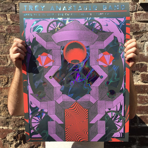 Trey Anastasio Band - Port Chester, NY Purple Lava Foil