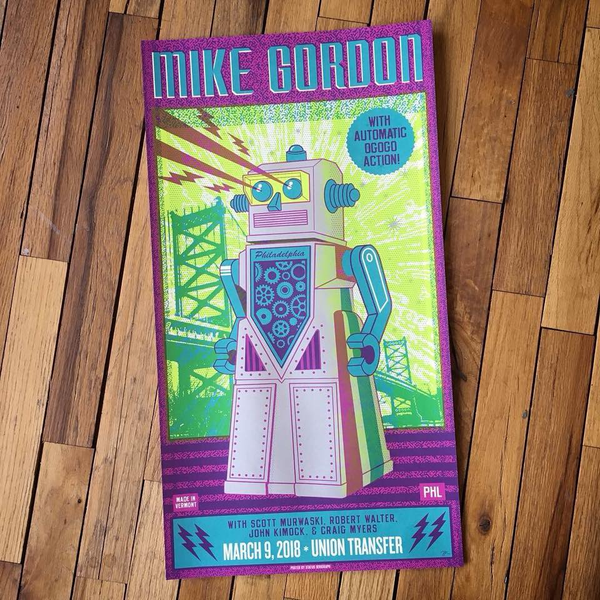 Mike Gordon-Philadelphia 18